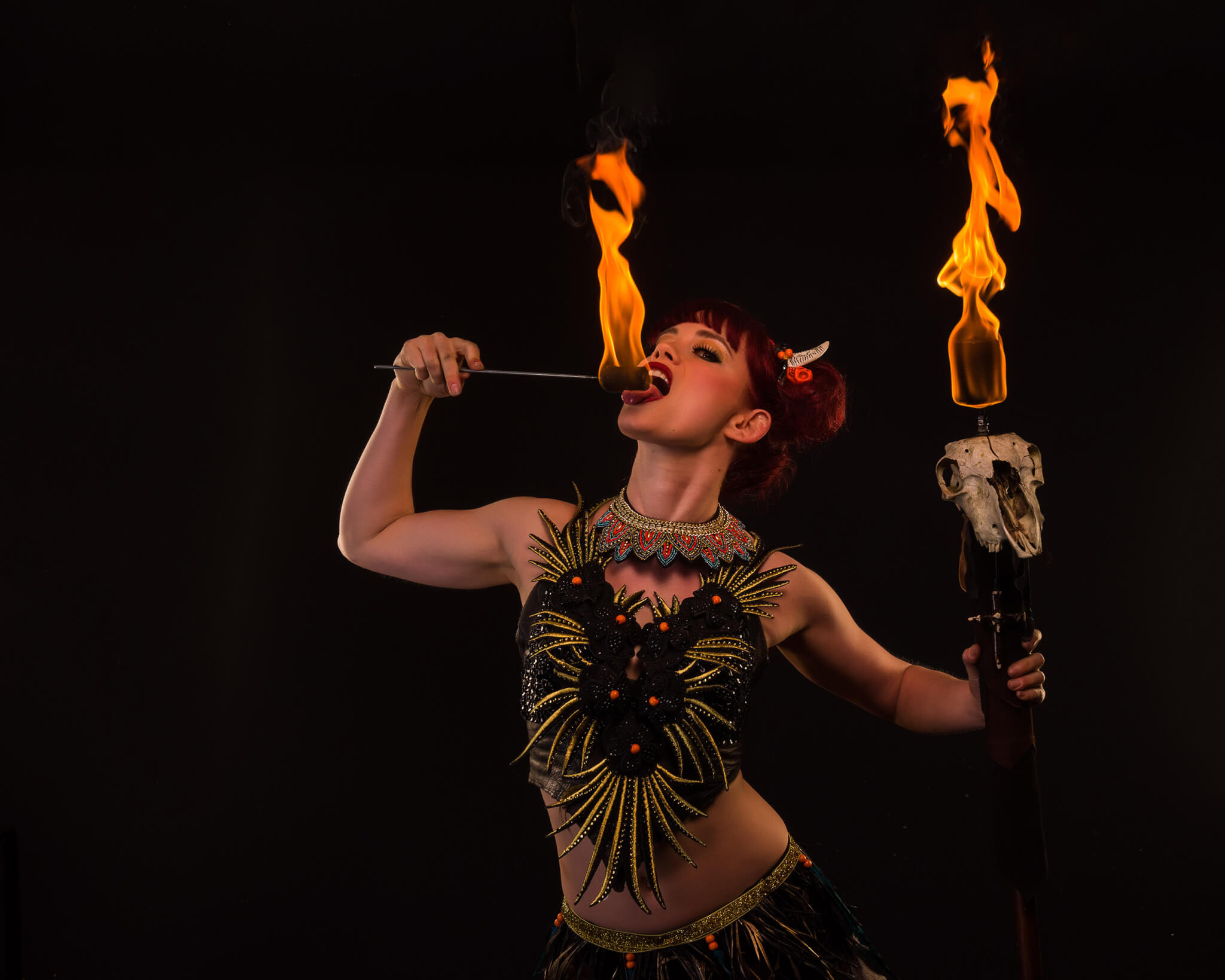 Aleisha | Aerialist & Fire Dancer