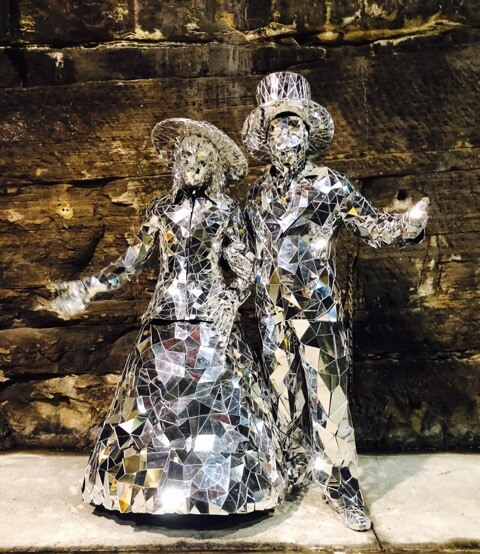 Mirror Man & Lady | Sydney