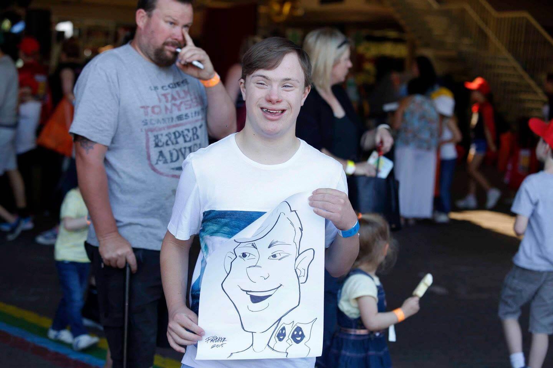 Ricky | Caricature Artist Melbourne