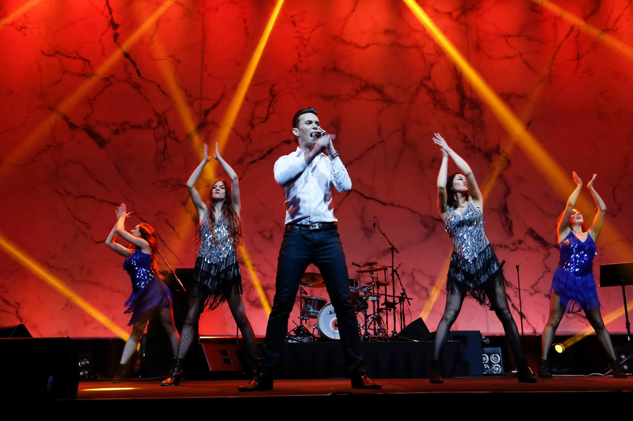 Richard Swanson & dancers | TLC Healthcare Silver Jubilee