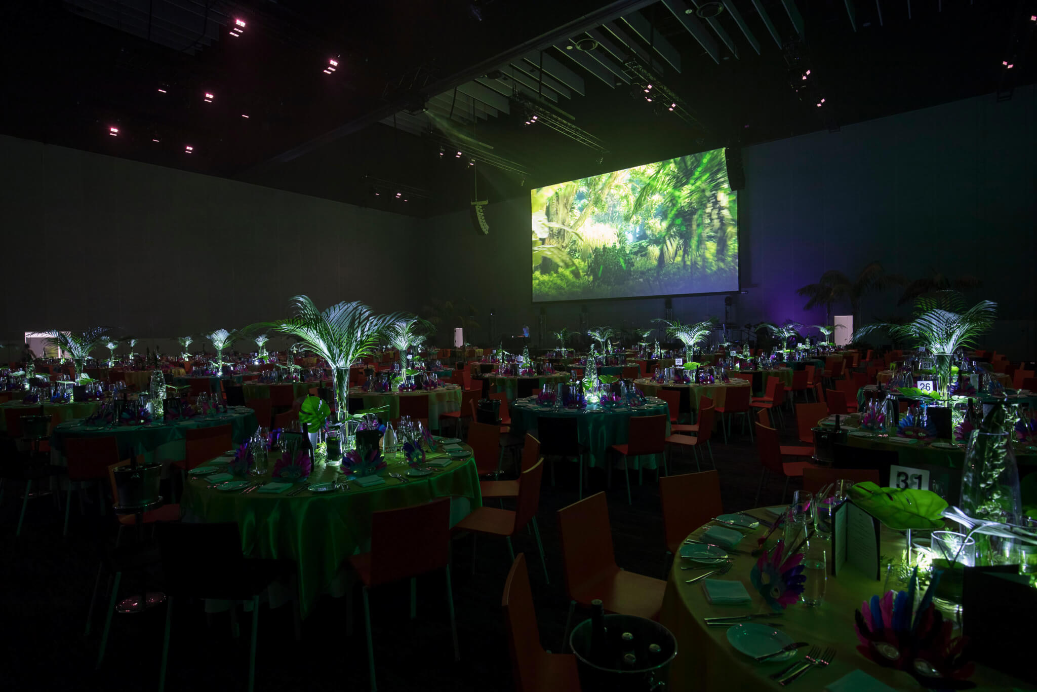 Rio Themed Corporate Event