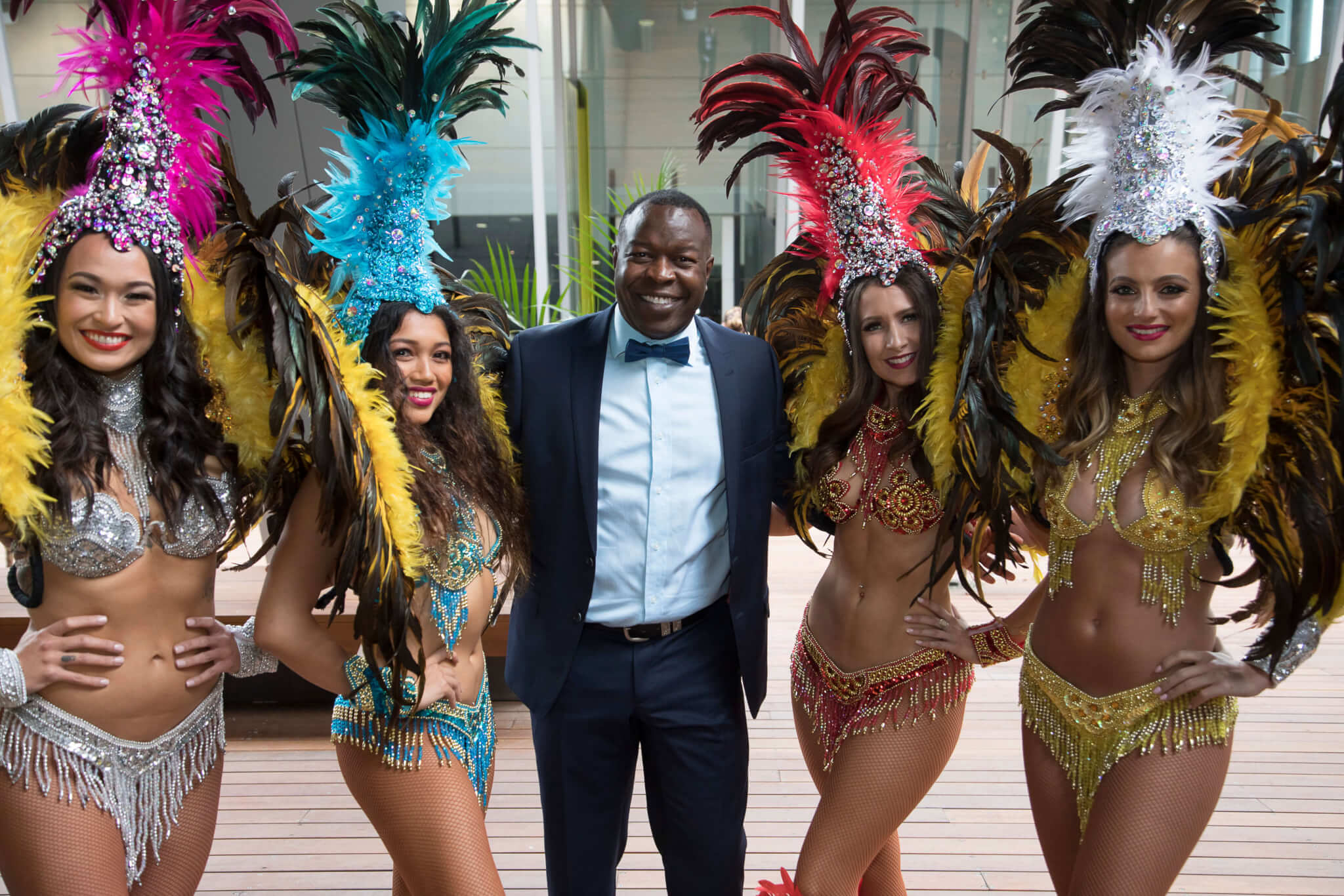 Rio Themed Corporate Event | Brazilian Samba Dancers