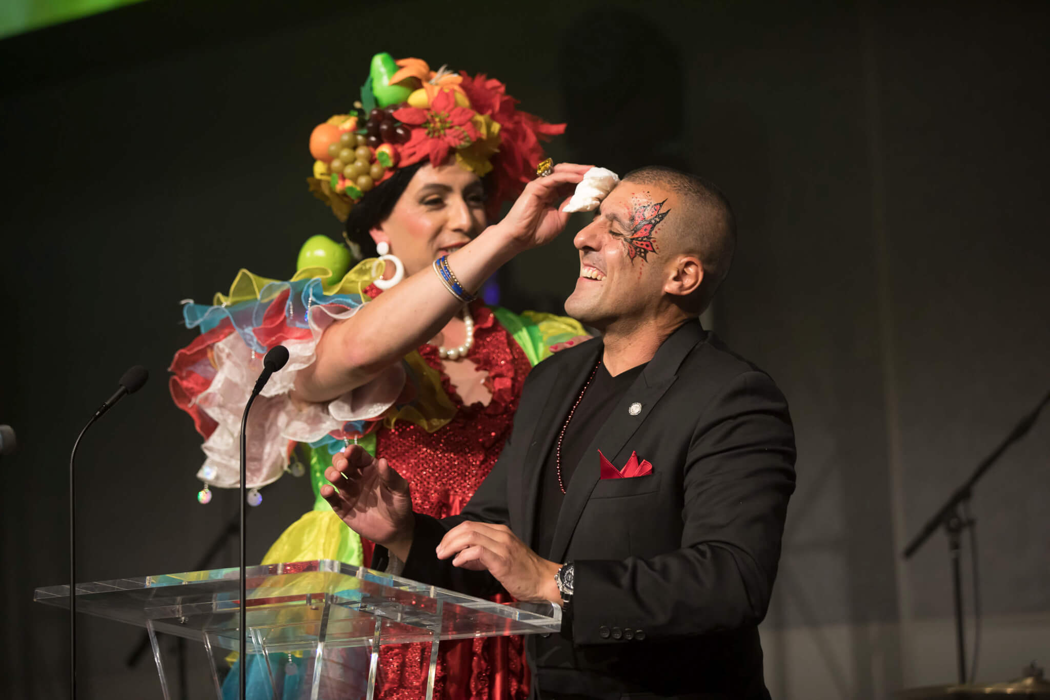 Rio Themed Corporate Event | Carmen Miranda