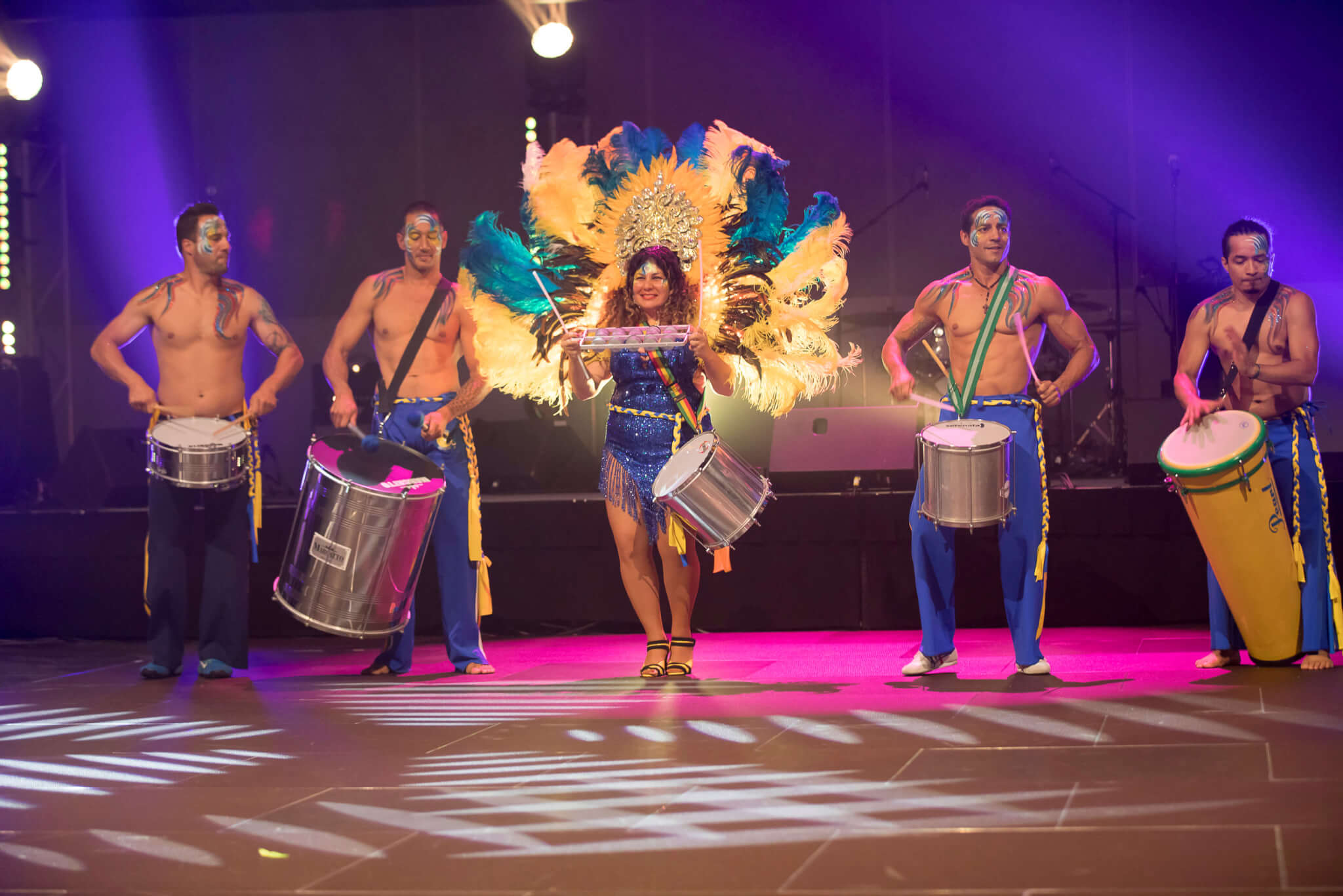Rio Themed Corporate Event | Capoeira Performers