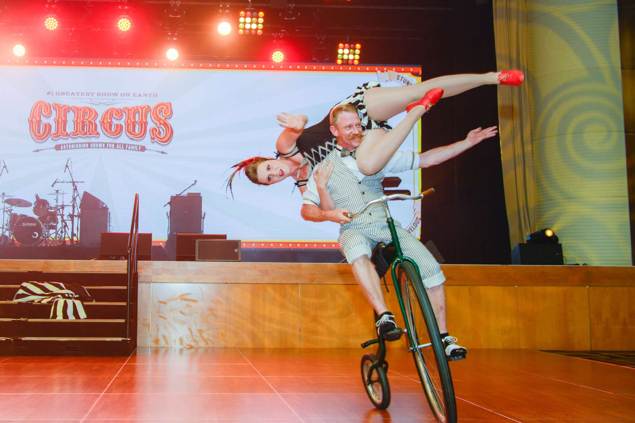 George & Lil | Vintage Circus Event Theme