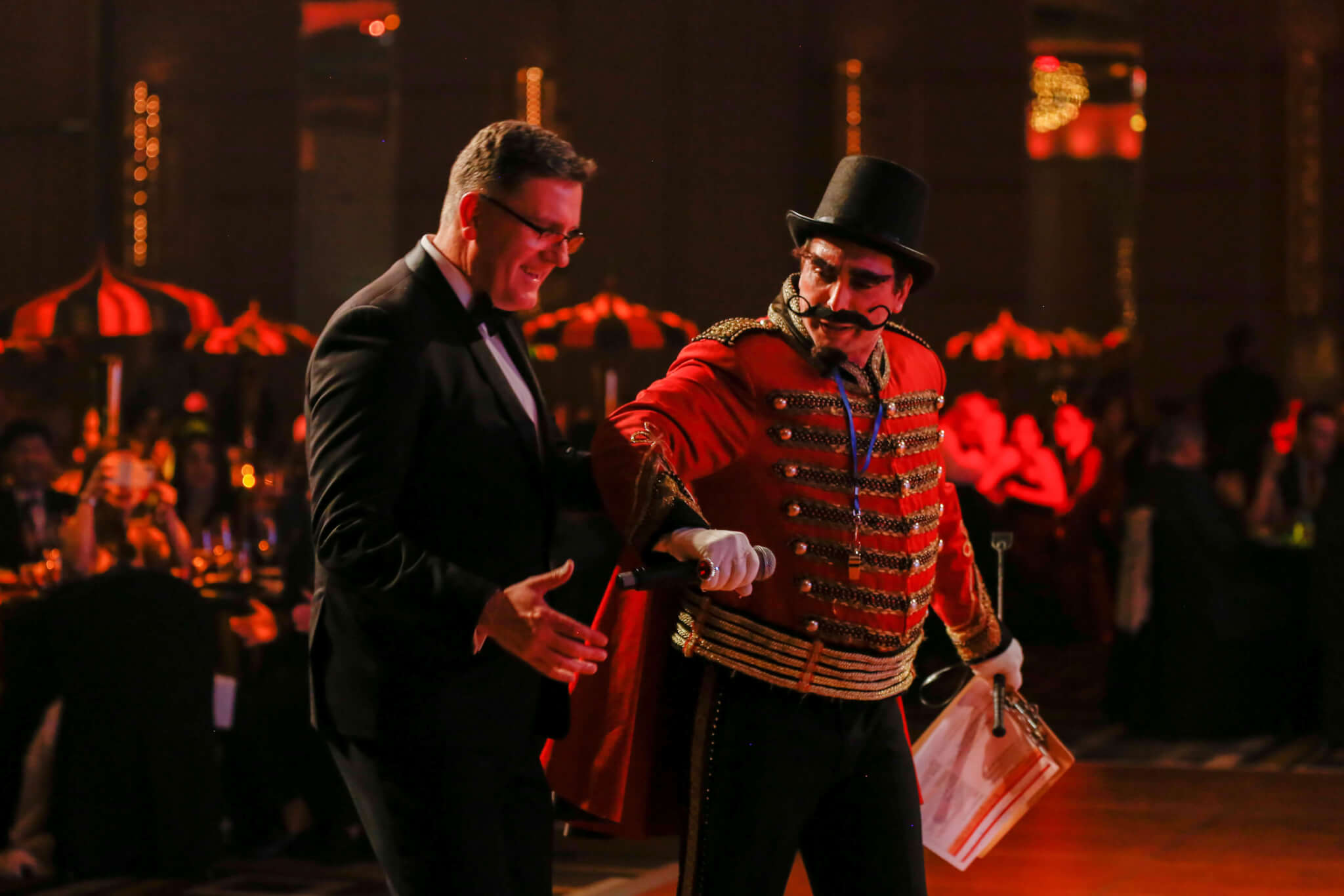 Ringmaster Zigler | Vintage Circus Event Theme