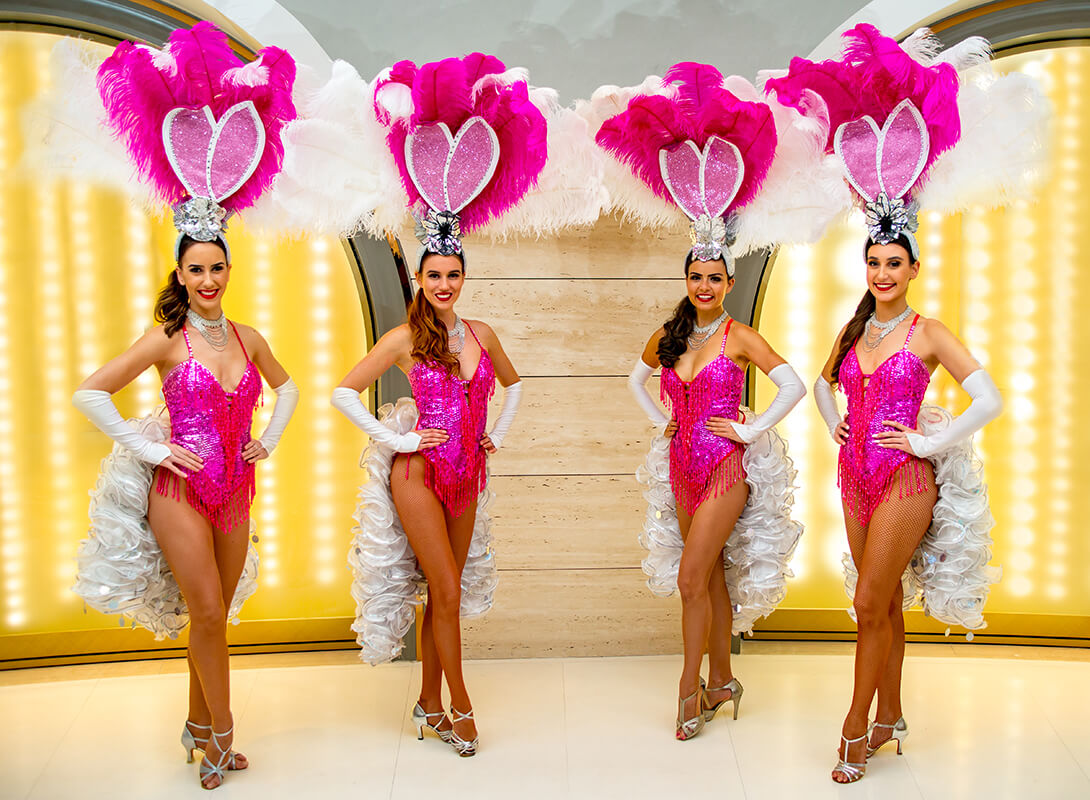 Bunny Showgirls Sensation