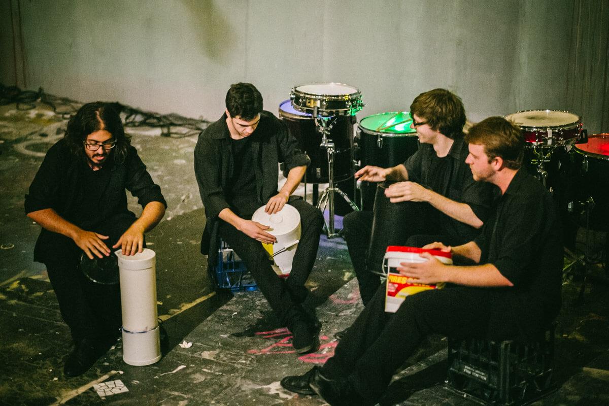 Paint Drummers