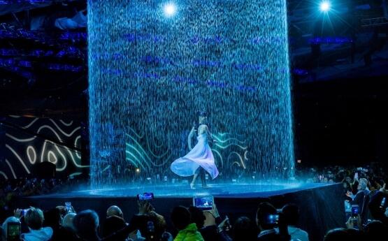 Water Curtain Dance