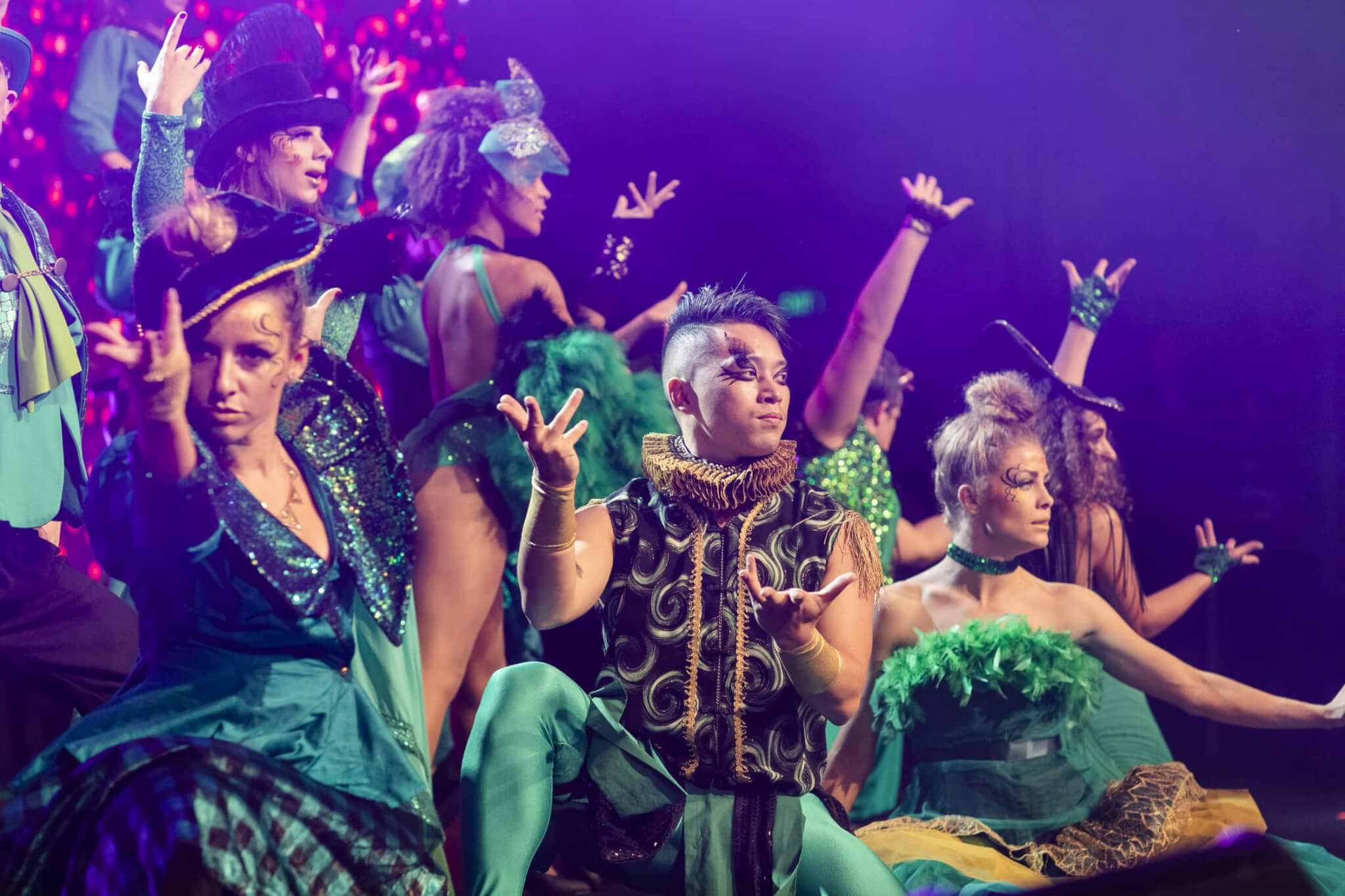 High Energy Dance Performance | Emerald City