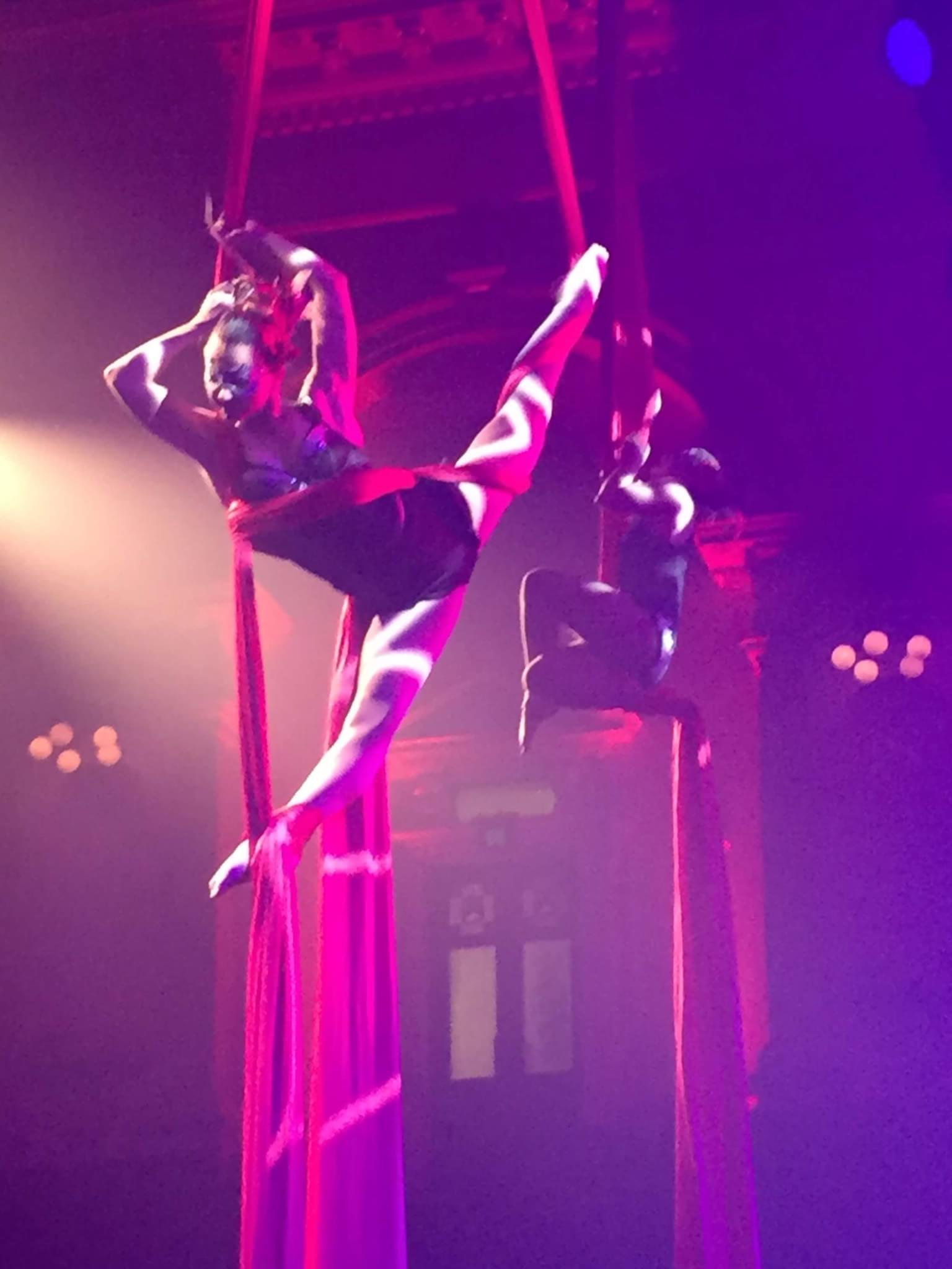French Tissue Aerialist