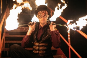 TeeBee Fire Performer | Melbourne