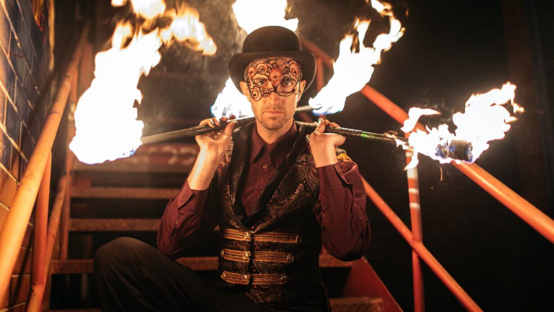 TeeBee Fire Performer | Melbourne