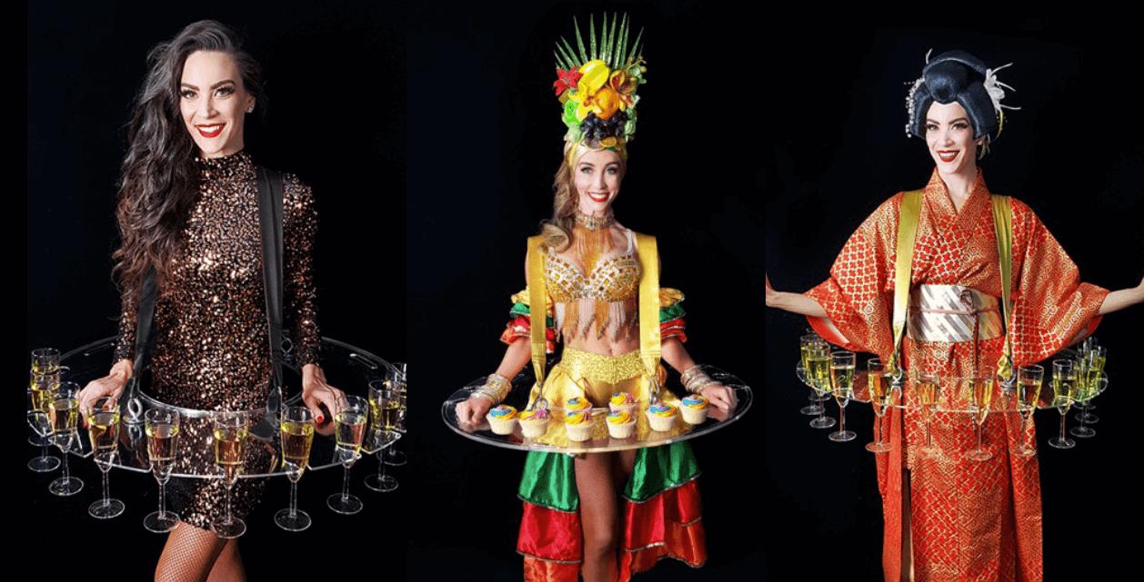 roving waitresses
