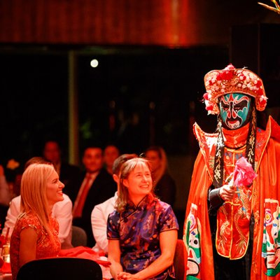 Chinese Face Changing Magician
