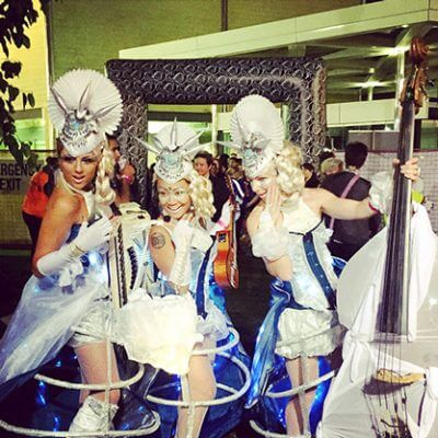 Glacius – Roving Musical Performers