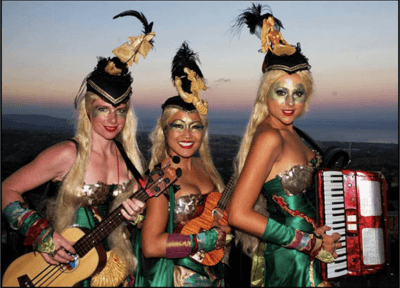The Sirens – Roving Musical Performers